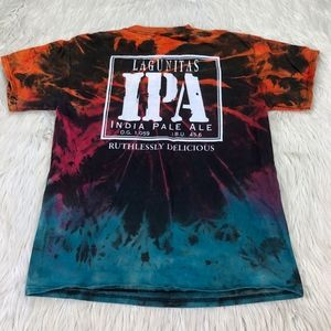 Lagunitas IPA Tie Dye Short Sleeve Graphic Tee